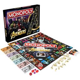 Avengers Board Game Monopoly *English Version*