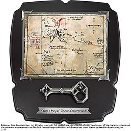 Hobbit: Thorin´s Oakenshield´s Map & Key Deluxe