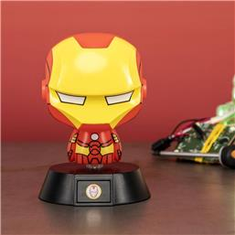 Avengers: Iron Man 3D Icon Lampe