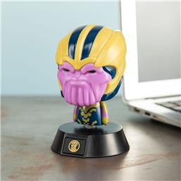 Thanos 3D Icon Lampe