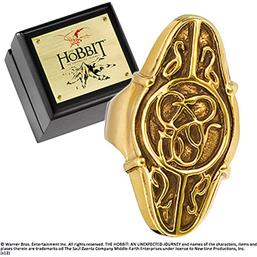 Hobbit: Elrond´s Council Ring (Guld belagt Sterling Sølv)