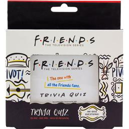 Friends: Friends Trivia Quiz Card Game 2nd Edition *English Version*