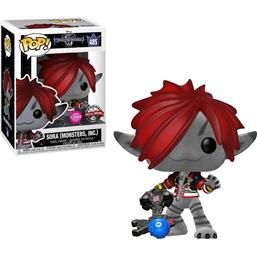 Sora Flocked POP! Disney Vinyl Figur (#485)