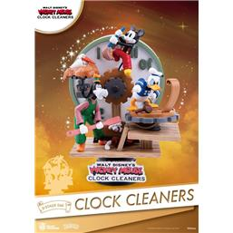 Clock Cleaners D-Stage PVC Diorama 15 cm