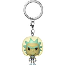 Rick Space Suit Pocket POP! Vinyl Nøglering