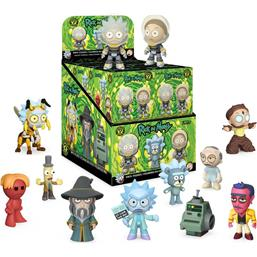 Rick and Morty: Rick & Morty Mystery Minis Vinyl Figur 12-Pak