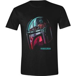 The Mandalorian Maske Reflection T-Shirt