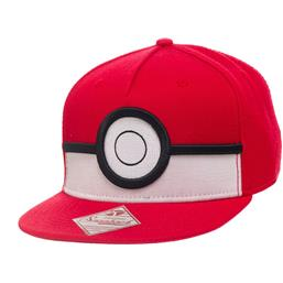 Pokémon: PokeBall Cap Rød