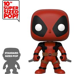 Deadpool Two Sword Red Super Sized POP! Vinyl Figur 25 cm