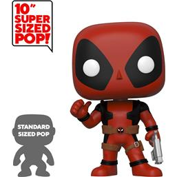 Deadpool Thumb Up Red Super Sized POP! Vinyl Figur 25 cm