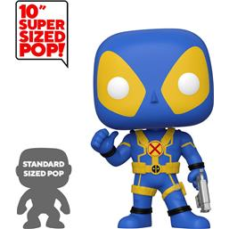 Deadpool Thumb Up Blue Super Sized POP! Vinyl Figur 25 cm
