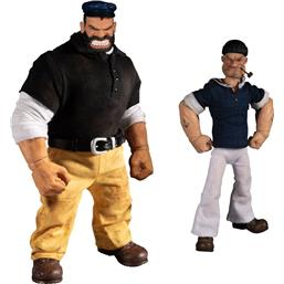 Popeye & Bluto: Stormy Seas Ahead Deluxe Action Figures 1/12
