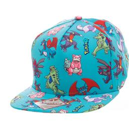 Pokemon Cap Characters All Over