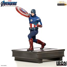 Captain America BDS Art Scale Statue 1/10 21 cm