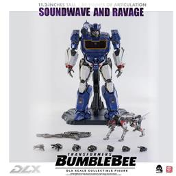 Soundwave & Ravage DLX Action Figure 2-Pack 1/6 28 cm
