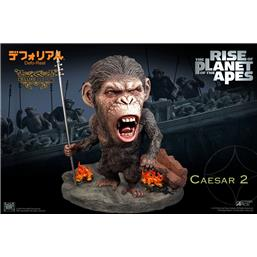 Planet of the Apes: Caesar Spear Ver. Deluxe Deform Real Series Soft Vinyl Statue 15 cm
