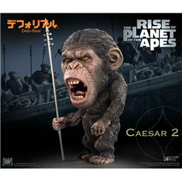 Planet of the Apes: Caesar Spear Ver. Deform Real Series Soft Vinyl Statue 15 cm