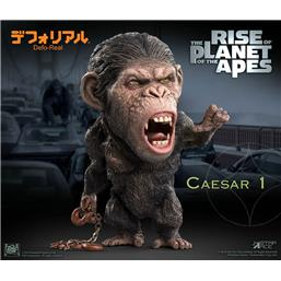 Planet of the Apes: Caesar Chain Ver. Deform Real Series Soft Vinyl Statue 15 cm