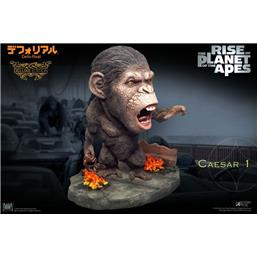 Planet of the Apes: Caesar Chain Ver. Deluxe Deform Real Series Soft Vinyl Statue 15 cm