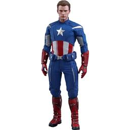 Captain America 2012 Ver. Movie Masterpiece Action Figure 1/6 30 cm