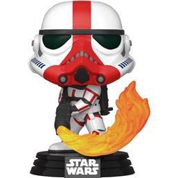 Star Wars: Incinerator Stormtrooper POP! TV Vinyl Figur