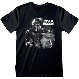 The Mandalorian BW Photo T-Shirt