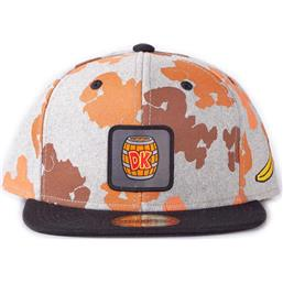 Donkey Kong All Over Print Snapback Cap