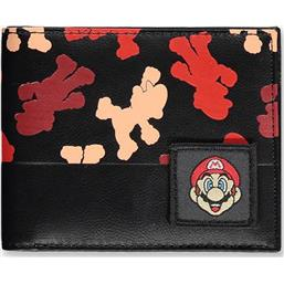 Super Mario All Over Print Bifold Pung