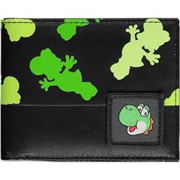 Yoshi All Over Print Bifold Pung
