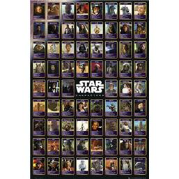 Star Wars: Characters Collage plakat
