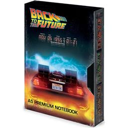 Back To The Future: Delorean VHS A5 Notesbog