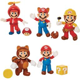 Super Mario Bros.: World of Nintendo Action Figures Wave 13 10 cm 5-Pack