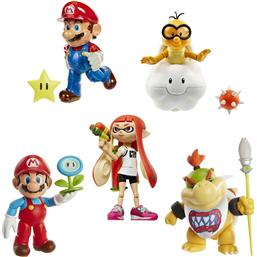 Super Mario Bros.: World of Nintendo Action Figures Wave 10 10 cm 5-Pack