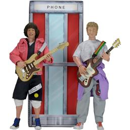 Bill & Ted´s Excellent Adventure: Bill & Ted Action Figures 2-Pack 20 cm