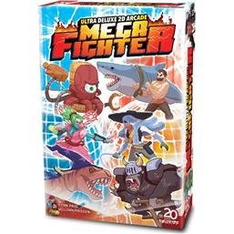Mega Fighter Ultra Deluxe 2D Arcade Card Game *English Version*
