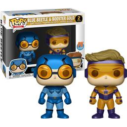 Blue Beetle & Booster Gold POP! Heroes Vinyl 2-Pak