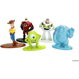 Disney Nano Metalfigs Diecast Mini Figures 5-Pack 4 cm