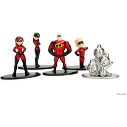 Incredibles 2 Nano Metalfigs 5-Pak