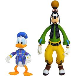 Kingdom Hearts: Fedtmule & Anders And Action Figures 2-Pak 10 - 18 cm