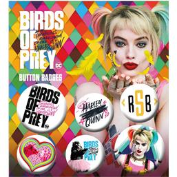 Birds of Prey 6-Pack Badges
