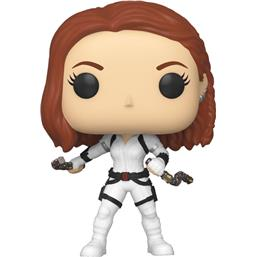 Black Widow (White Suit) POP! Marvel Vinyl Figur