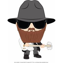 Billy Gibbons POP! Rocks Vinyl Figur