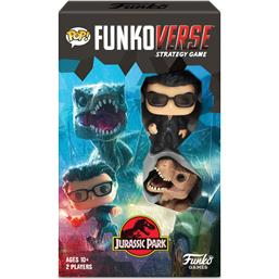 Jurassic Park & World: Funkoverse Jurassic Park Board Game 2 Character Expandalone