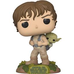 Training Luke with Yoda POP! Movies Vinyl Figur