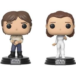 Han & Leila Empire Strikes Back 40th Anniversary POP! Movie Moments Vinyl Bobble-Head 2-Pak