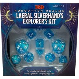 Dungeons & Dragons: Forgotten Realms: Laeral Silverhand's Explorer Kit - Dice & Miscellany