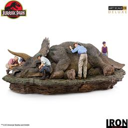 Jurassic Park & World: Triceratops Deluxe Art Scale Diorama 1/10 74 cm