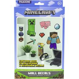Minecraft Væg Decal 20-Pak