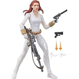 Black Widow White Suit Deadly Origin Action Figure 15 cm