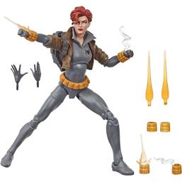 Black Widow Grey Suit Action Figure 15 cm